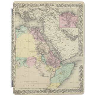 Africa North Eastern Sheet iPad Cover