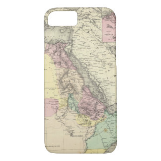 Africa North Eastern Sheet iPhone 8/7 Case