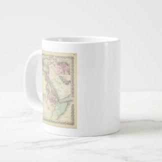 Africa North Eastern Sheet Large Coffee Mug
