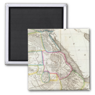 Africa Northeast Square Magnet