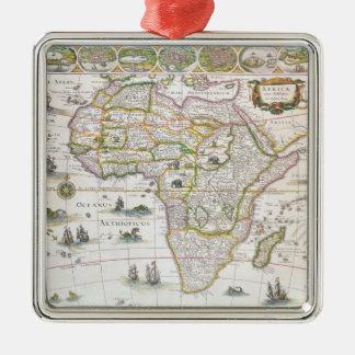 Africa Nova, c.1617 Christmas Ornament