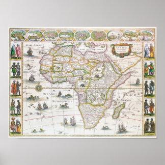 Africa Nova, c.1617 Poster