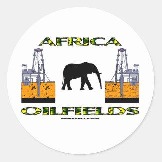 Africa Oil Fields Oil Field Sticker