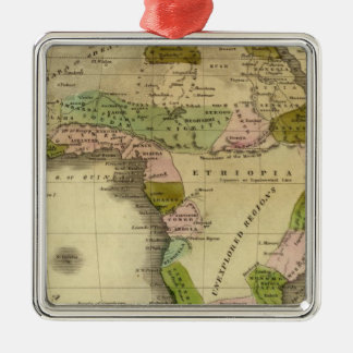 Africa Olney Map Christmas Ornament