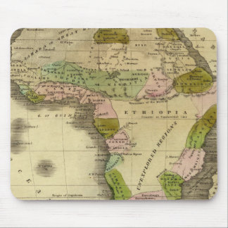 Africa Olney Map Mouse Mat