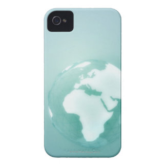 Africa on Globe Case-Mate iPhone 4 Cases