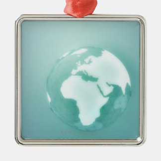 Africa on Globe Christmas Ornament