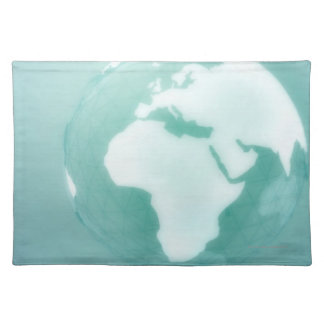 Africa on Globe Placemat