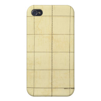 Africa Outline iPhone 4 Case