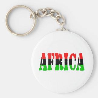 Africa Pan-African Flag Key Ring