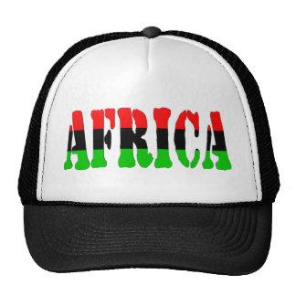 Africa Pan-African Flag Mesh Hat
