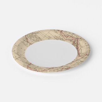 Africa Paper Plate