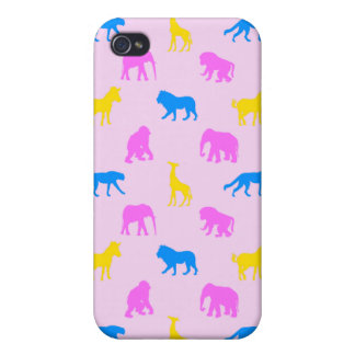 Africa Pattern Pink iPhone 4/4S Covers