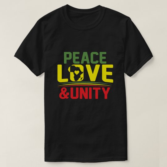 AFRICA - PEACE, LOVE & UNITY T-Shirt