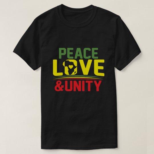 AFRICA - PEACE, LOVE & UNITY T-Shirt