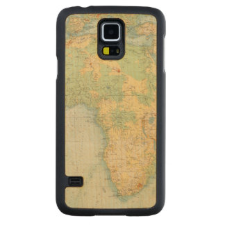 Africa Physical 10506 Carved Maple Galaxy S5 Case