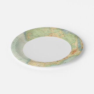 Africa Physical 10506 Paper Plate
