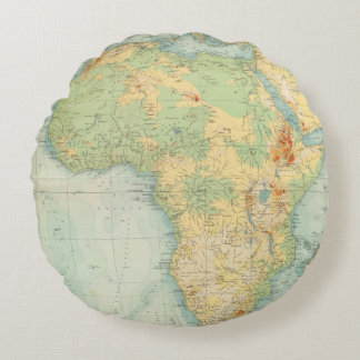 Africa Physical 10506 Round Cushion