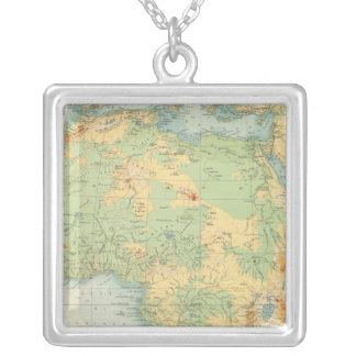 Africa Physical 10506 Silver Plated Necklace