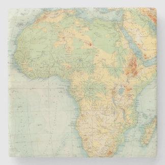 Africa Physical 10506 Stone Coaster