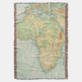 Africa Physical 10506 Throw Blanket