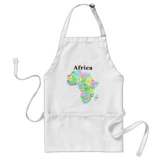 Africa - Political Map Standard Apron