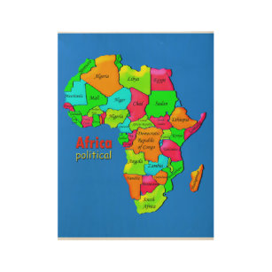 Africa political poster