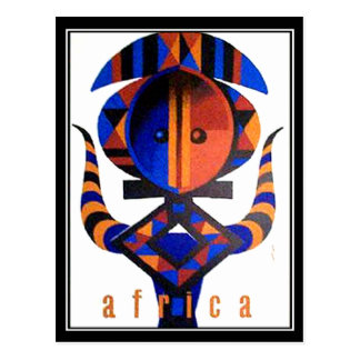 Africa Postcard Postcard