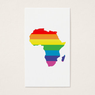 africa pride. business card