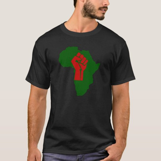 Africa Rasta Black Fist III T-Shirt