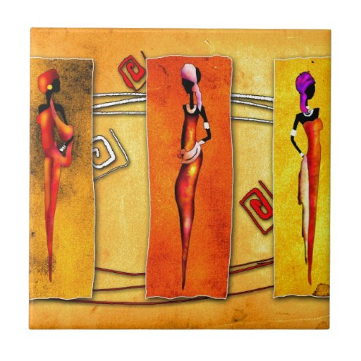 Africa retro vintage style gifts 01 tile