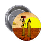 Africa retro vintage style gifts 24 6 cm round badge