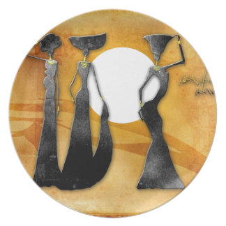 Africa retro vintage style gifts 28 plate