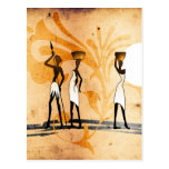 Africa retro vintage style gifts 35 postcard