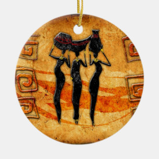 Africa retro vintage style gifts 36 christmas ornament