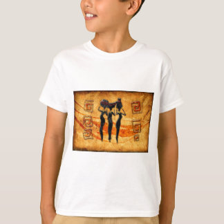 Africa retro vintage style gifts 36 T-Shirt