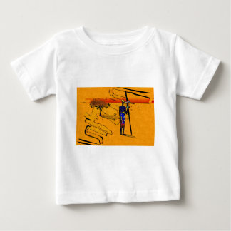 Africa retro vintage style gifts baby T-Shirt