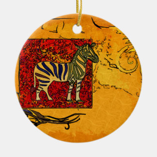 Africa retro vintage style gifts christmas ornament