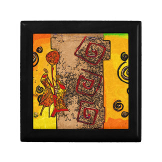 Africa retro vintage style gifts gift box