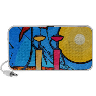 Africa retro vintage style gifts portable speaker