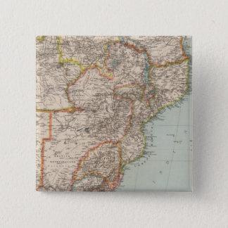 Africa, S of Equator 15 Cm Square Badge