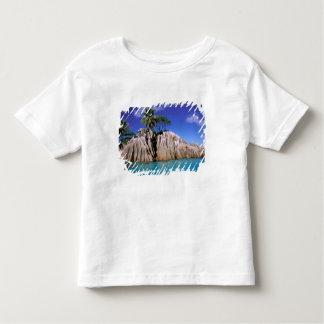 Africa, Seychelles, La Digue Island. Granite Toddler T-Shirt