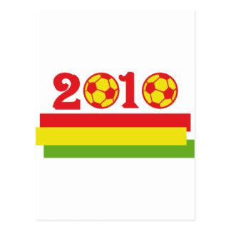 africa soccer 2010 postcard