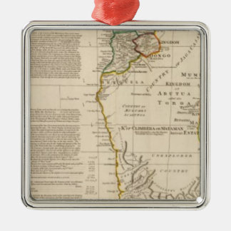 Africa south christmas ornament