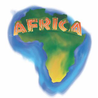 Africa Standing Photo Sculpture