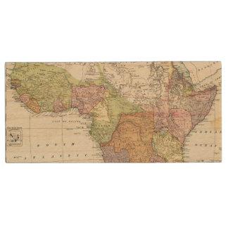 Africa, Suez Canal Wood USB Flash Drive