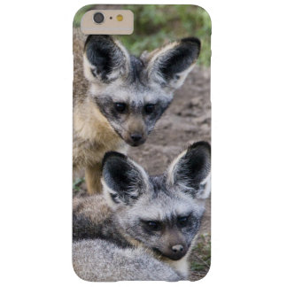 Africa. Tanzania. Bat-Eared Foxes at Ndutu in Barely There iPhone 6 Plus Case