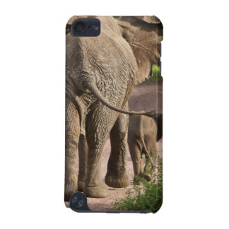 Africa. Tanzania. Elephant mother and calf at iPod Touch 5G Cases