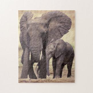 Africa, Tanzania, Tarangire National Park Jigsaw Puzzle
