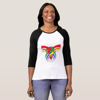 Africa to South Africa to Rainbow design T-Shirt